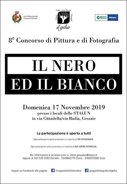 concorso fotografico nero ed il bianco il gelso gessate 2019